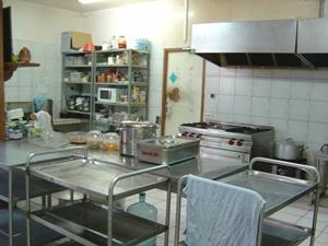 ruang meditasi: dapur